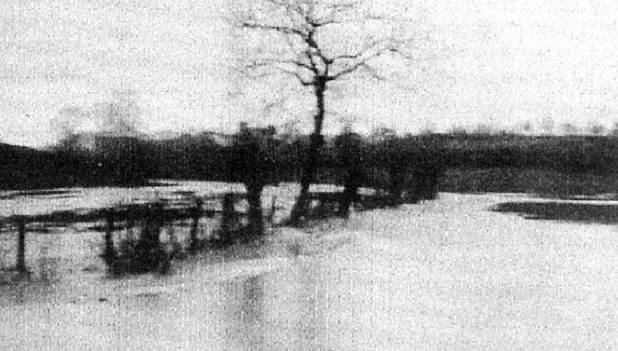 The valley flooded most winters, especially before the drainage ditches were improved
