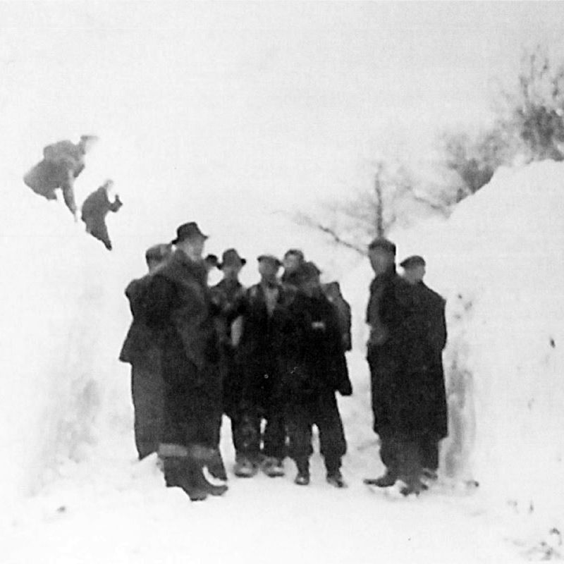 Worst snow of the century, January 1947